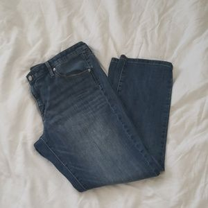 Mossimo Mid Rise Straight Jeans